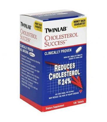 Twinlab Cholesterol Success, 120 Tablets