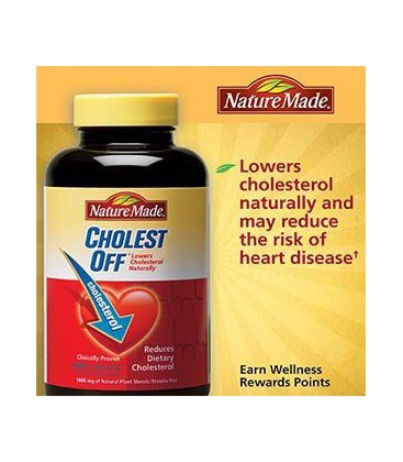 NATURE MADE CHOLEST-OFF 240 CAPLETS CHOLESTEROL FORMULA (PAC
