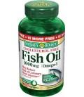 Nature's Bounty Fish Oil 1000 Mg. Cholesterol Free Omega-3 S