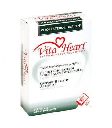Vita Heart Dietary Supplement, Cholesterol Health, 60 tablet