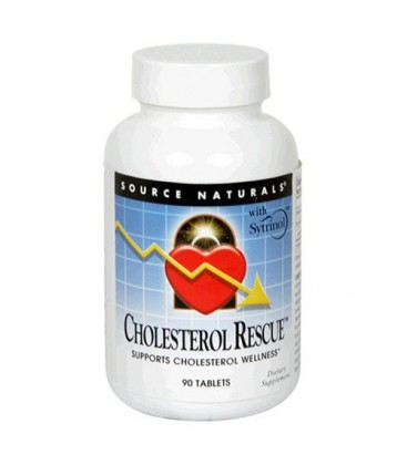 Source Naturals Cholesterol Rescue, 90 Tablets