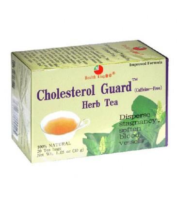 Health King  Cholesterol Guard Herb Tea, Teabags, 20-Count B