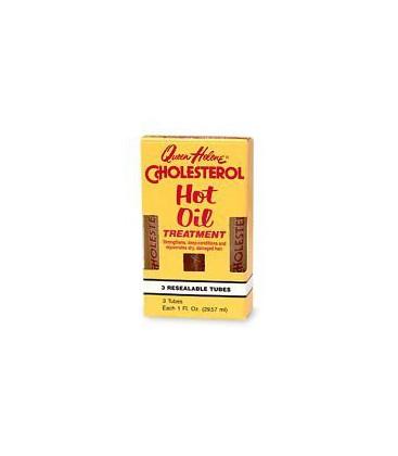 Queen Helene Cholesterol Hot Oil 1 oz. Treatment Tubes 3's