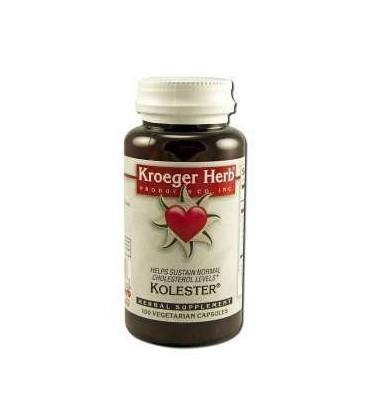 Kolester - Helps sustain normal cholesterol levels, 100 caps
