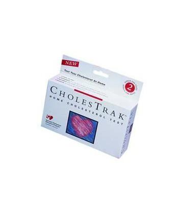 Cholestrak Home Cholesterol Test Kit 2 TESTS PER PACK