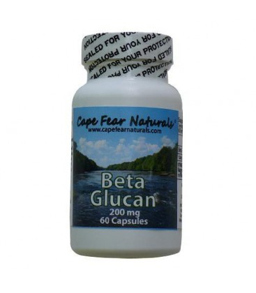 Cape Fear Naturals - Beta Glucan - Strengthens Immunity, Nor