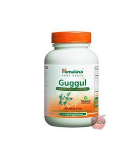 Himalaya Herbal - Guggul - Cholesterol Support 250 mg - 60 C