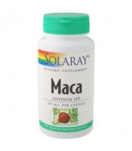 Solaray - Maca, 525 mg, 100 capsules