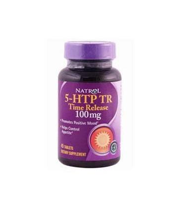 Natrol 5-HTP Tr 100mg Tablets, 45-Count
