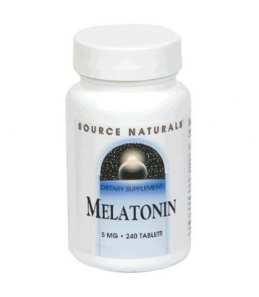 Source Naturals Melatonin 5mg, 240 Tablets