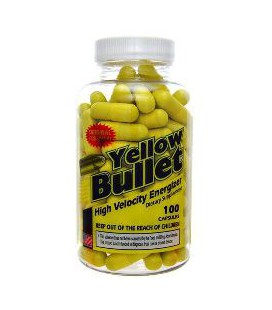 Yellow Bullet 25 mg Ephedra 100 caps