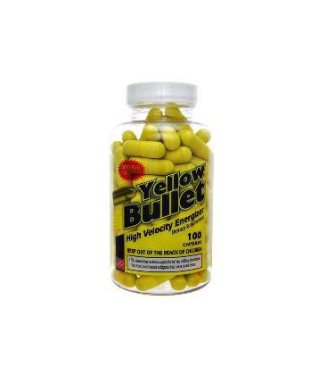 Yellow Bullet 25 mg Ephedra 100 caps