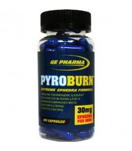 Pyroburn 30 mg Ephedra 100 caps