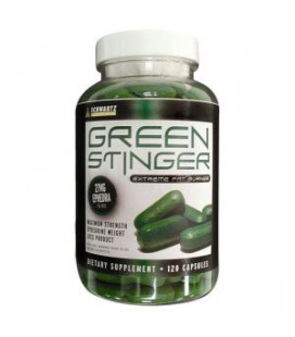 Green Stinger 27 mg Ephedra 120 caps