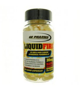 Liquid Fire 35 mg ephedra 90 liquid caps