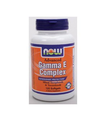 NOW Foods - Advanced Gamma E Complex 120 softgels