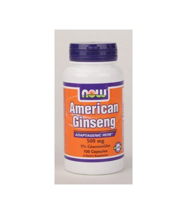 NOW Foods - American Ginseng 500 mg 100 caps