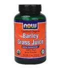 NOW Foods - Barley Grass Juice Powder Certified Organic - 4 oz. ( Multi-Pack)