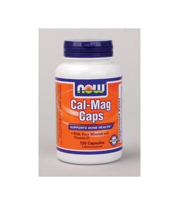 NOW Foods - Cal-Mag Caps 120 caps