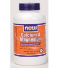 NOW Foods - Calcium & Magnesium Powder 8 oz