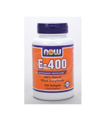 NOW Foods - E-400 (Mixed Tocopherols) 250 softgels