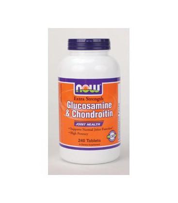 NOW Foods - Glucosamine & Chond. Ex Str 240 tabs