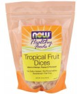 NOW Foods - Healthy Foods Dices Tropical Fruit - 16 oz.