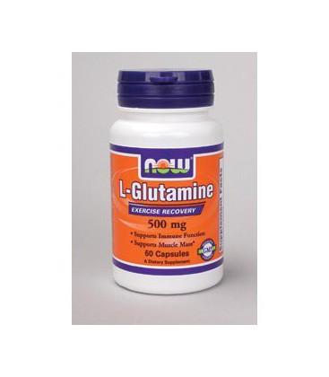NOW Foods - L-Glutamine 500 mg 60 caps