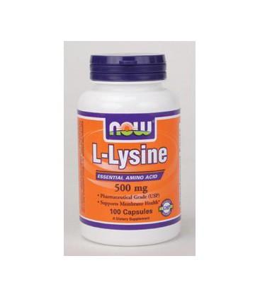 NOW Foods - L-Lysine 500 mg 100 caps