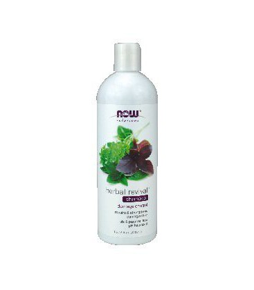 NOW Foods - Natural Herbal Revival Shampoo For Damaged Hair - 16 oz. ( Multi-Pack)