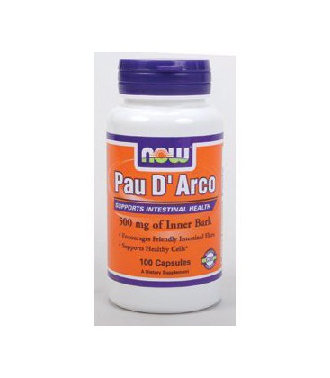 NOW Foods - Pau D'Arco 500 mg 100 caps