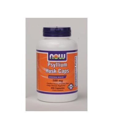 NOW Foods - Psyllium Husk Caps 500 mg 200 caps