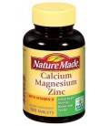 Nature Made Calcium, Magnesium, and Zinc with Vitamin D, 100