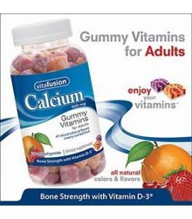 Vitafusion Calcium 500 mg with Vitamin D3, Bone Support, Gum