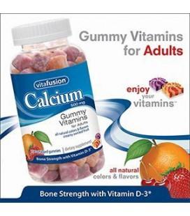 Vitafusion Calcium 500 mg with Vitamin D3, Bone Support, Gum
