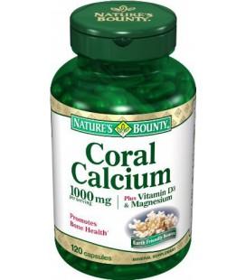 Nature's Bounty Coral Calcium Plus Vitamin D and Magnesium,