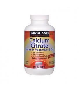 Kirkland Signature Calcium Citrate with Vitamin D, Magnesium