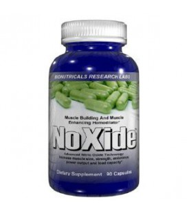 NoXide - 90 Capsules 800mg Nitric Oxide, Hemodilatateur
