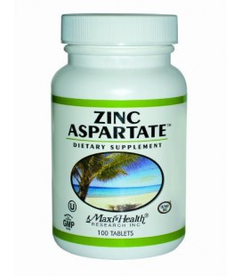 Maxi Zinc (30 Mg) aspartate enzymaxed, 100 Tablets, Bottle