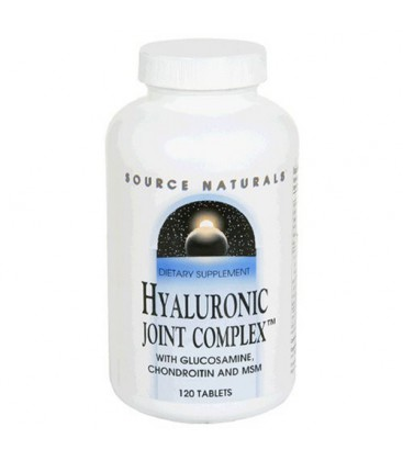 Source Naturals Hyaluronic Joint Complex, 120 Tablets