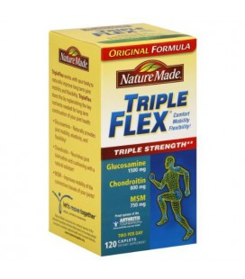 Nature Made Triple Flex, Glucosamine 1500 mg, Chondroitin 80
