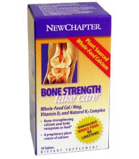 New Chapter Bone Strength Take Care, 30 Tablets