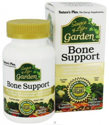 Source Of Life Garden Bone Support - 120 - Veg/Cap