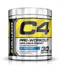 Cellucor C4 Pré suppléments d'entraînement avec Créatine, Nitric Oxide, Beta Alanine et de l'énergie, 30 Portions, Icy Bleu Razz