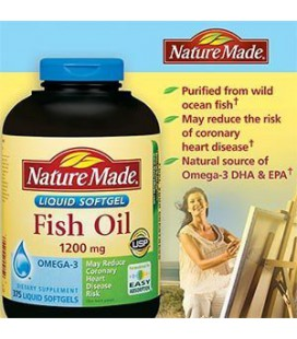 Nature Made Maximum Strength Omega-3 Fish Oil 1200 mg - 375