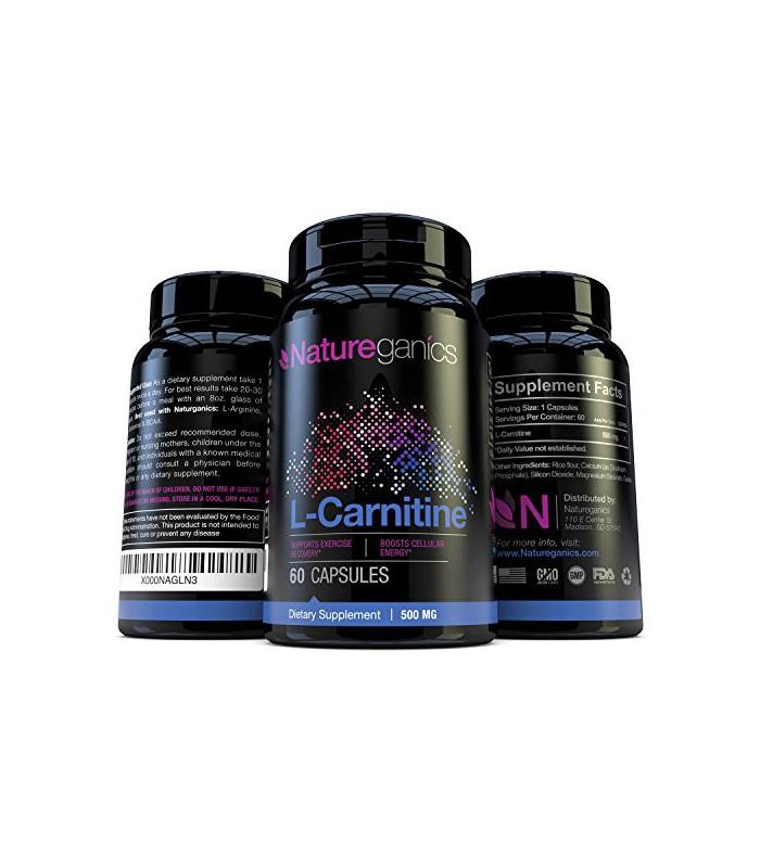 Natureganics L-Carnitine pur acides aminés essentiels