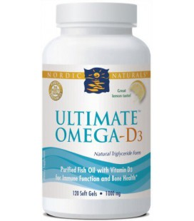 Ultimate Omega-D3 - Lemon - 120 - Softgel