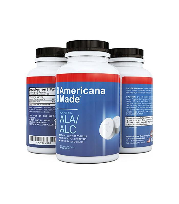 Supplément pur Acide alpha-lipoïque ★ Potent ALA