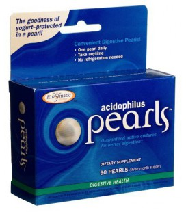 Enzymatic Therapy Acidophilus Pearls (90 Capsules)