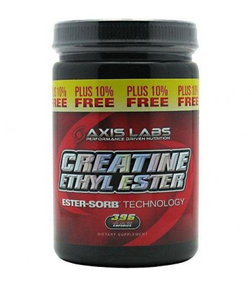 Axis Lab Creatine Ethyl Ester, Capsules, 360-Count